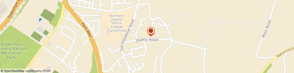 Route/map/directions to Mf Communication, BT4 2NP Belfast, 25 Quarry Road