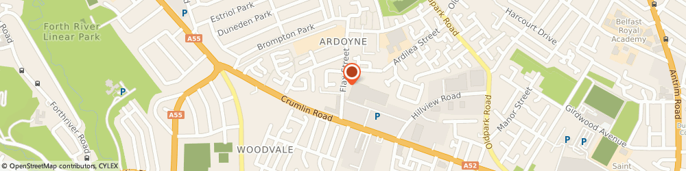 Route/map/directions to The Down & Connor Playgroup, BT14 7EJ Belfast, Mccorry Houseflax Street