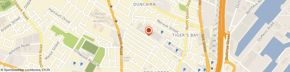 Route/map/directions to A1 COMPUTERS, BT15 2GG Belfast, UNIT 3/NORTH CITY BUSINESS CENTRE, DUNCAIRN GDNS
