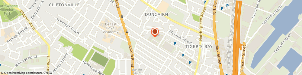 Route/map/directions to Doxbond, BT15 2JY Belfast, 2 Edlingham St