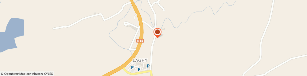 Route/map/directions to Express Piano Tuning,  Donegal, Laghey