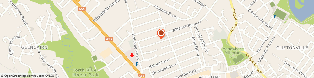 Route/map/directions to Carpet Cleaning Company,the, BT14 7NX Belfast, 210 ALLIANCE AV