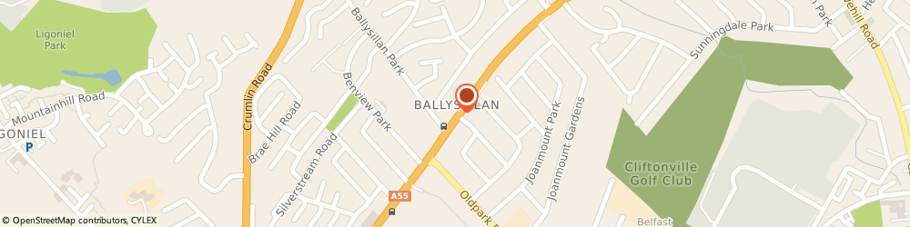 Route/map/directions to Simply You, BT14 6RA Belfast, 254-256 Ballysillan Road