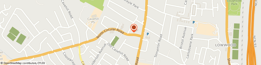 Route/map/directions to Rosemary Church Halls, BT15 5HB Belfast, 19, NORTH CIRCULAR ROAD