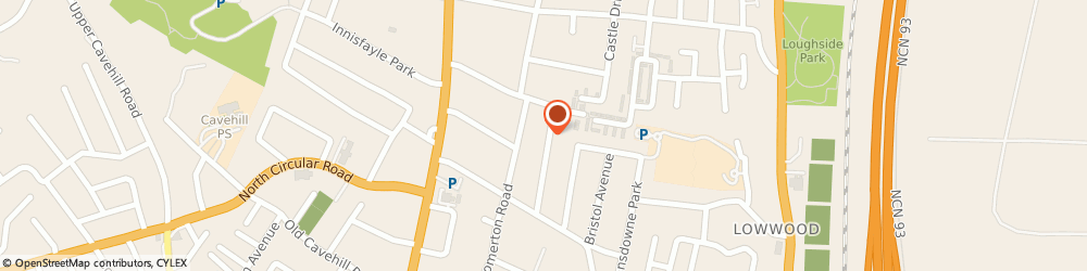 Route/map/directions to THE BEAUTY ROOM BELFAST LTD, BT15 4DN Belfast, 26 Ashley Gardens