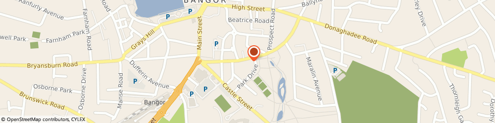 Route/map/directions to The Word Works Partnership Ltd, BT20 4LE Bangor, 32 HAMILTON ROAD