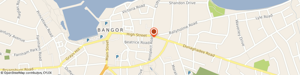 Route/map/directions to Design Ethos, BT20 5BB Bangor, 126 High Street