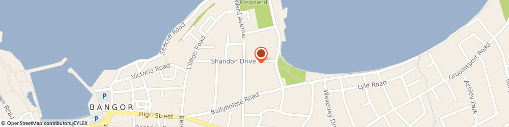 Route/map/directions to Tamm's Limited, BT20 5HR Bangor, 32 Shandon Drive