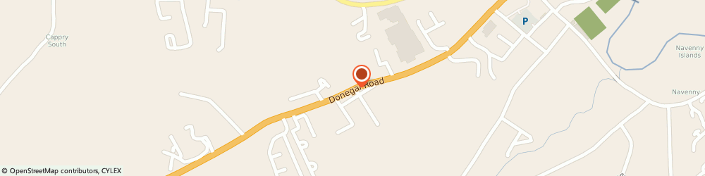 Route/map/directions to Blackburn Electrical Ltd,  Donegal, Donegal Rd Ballybofey