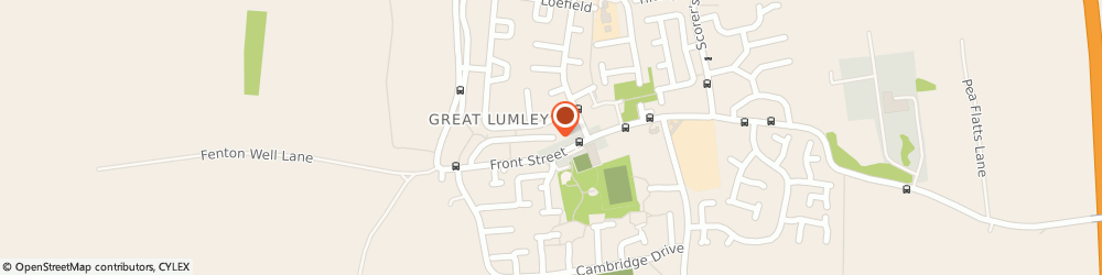 Route/map/directions to Angel Cestrie Ltd, DH3 3BE Chester Le Street, FRONT STREET