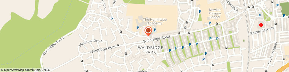 Route/map/directions to The Hermitage Academy 4054, DH2 3AD Chester Le Street, Waldridge Lane