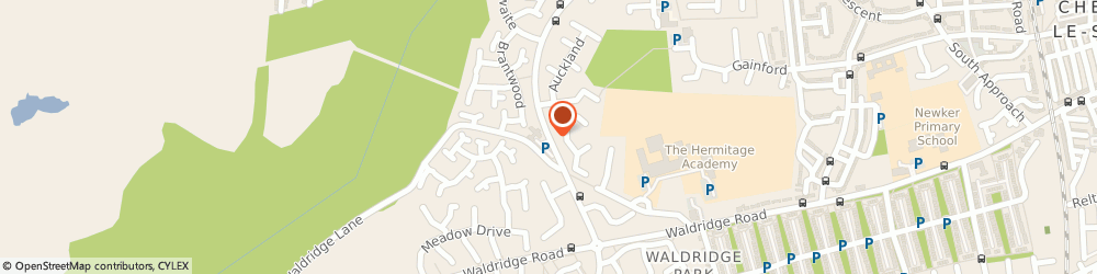 Route/map/directions to Cestria Health Centre, DH2 3DJ Chester Le Street, Whitehill Way