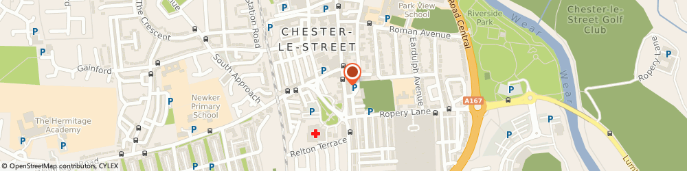 Route/map/directions to Da Vincis, DH3 3AY Chester Le Street, 162, Front Street