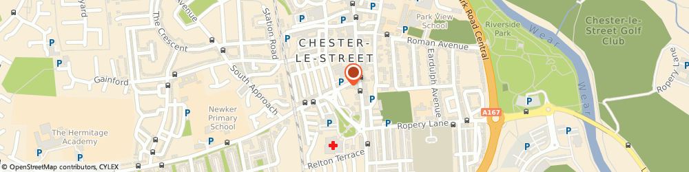Route/map/directions to Lumsdon Wood Partnership, DH3 3HJ Chester Le Street, 5 West Lane