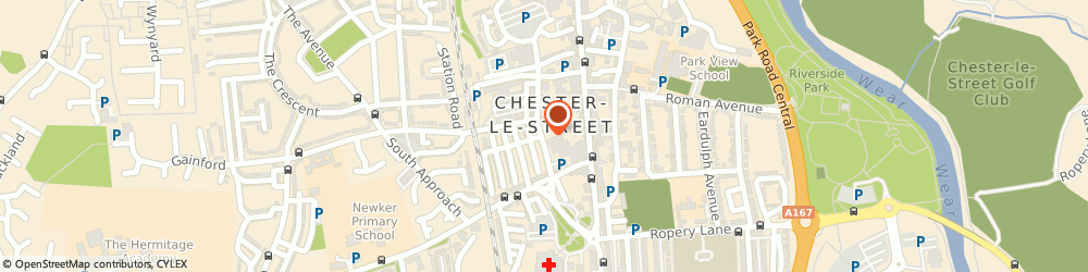 Route/map/directions to Kwik Fit, DH3 3DG Chester Le Street, Clarence Terrace