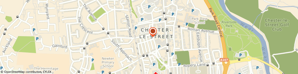 Route/map/directions to The Room, DH3 3QG Chester Le Street, 2 albert square, Chester-le-Street