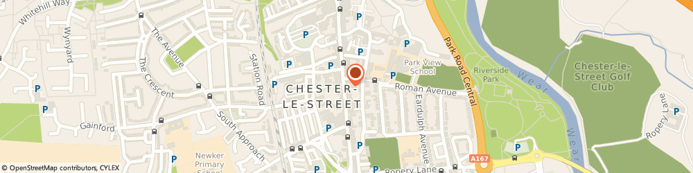 Route/map/directions to A A & C Taxis, DH3 3AY Chester Le Street, 134a Front Street