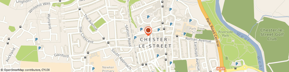 Route/map/directions to McCarrick Construction Company Ltd, DH3 3DU Chester Le Street, The Turnpark, Station Road