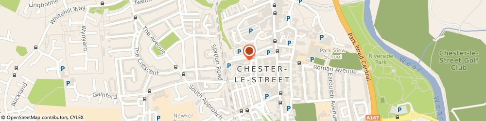 Route/map/directions to Q Club, DH3 3DY Chester Le Street, UNIT 2/TURN PK, STATION ROAD