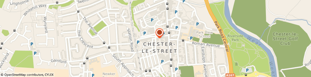 Route/map/directions to Photography By Tim French, DH3 3DS Chester Le Street, NO. 1 OSBORNE ROAD