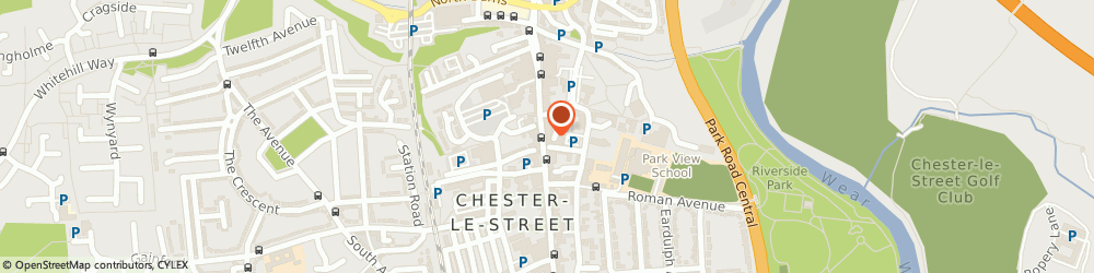 Route/map/directions to British Heart Foundation, DH3 3DB Chester Le Street, 64 Front Street
