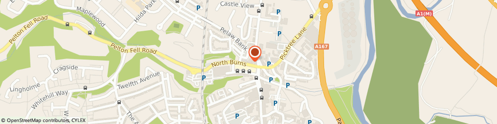 Route/map/directions to Browns Hairdressers, DH3 3TF Chester Le Street, 15 NORTH BURNS