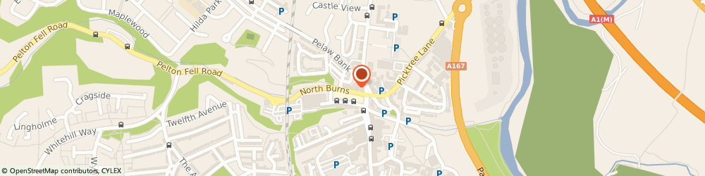 Route/map/directions to Back to Blank Tattoo Removal, DH3 3TF Chester Le Street, 15, North Burns, Suite 5