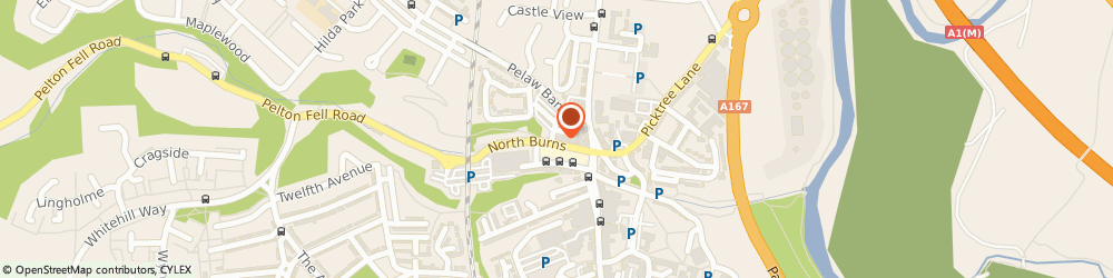 Route/map/directions to The Road Centre Ltd, DH3 3TF Chester Le Street, 21A NORTH BURNS