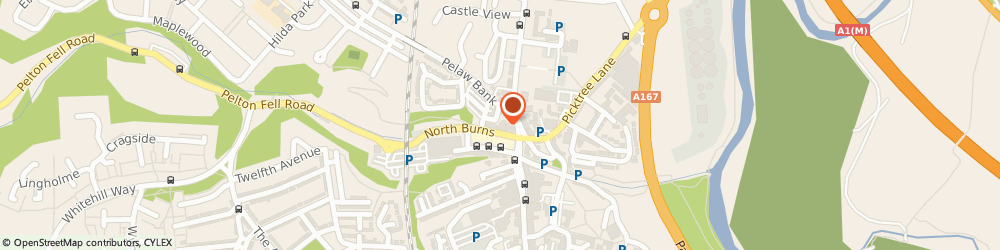 Route/map/directions to Enlighting Limited, DH3 3TF Chester Le Street, Suite 1, 1St Floor, 15 North Burns