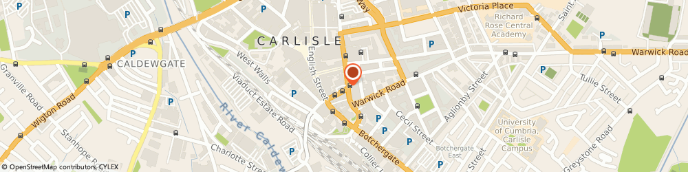 Route/map/directions to Cumbria Insurance Brokers Ltd, CA3 8EN Carlisle, 29 Lowther Street