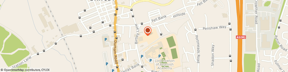 Route/map/directions to BHF British Heart Foundation - Clothing Bank - Birtley Lane, DH3 3LW Chester Le Street, Birtley Lane