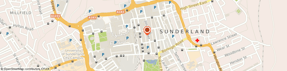 Route/map/directions to Church Of Scientology, SR1 1RS Sunderland, 51 Fawcett Street