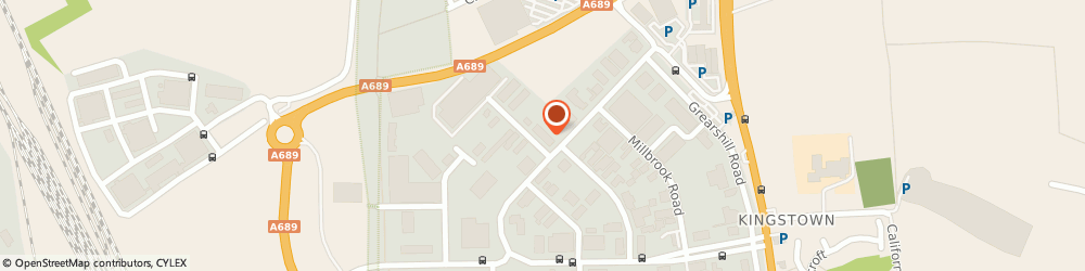 Route/map/directions to Gates Tyres - Team Protyre, CA3 0HA Carlisle, 88 Kingstown Broadway
