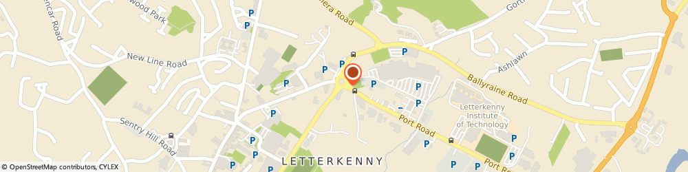 Route/map/directions to Swift Security & Communications,  Donegal, 53 PORT RD LETTERKENNY