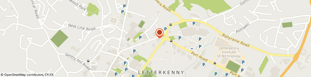 Route/map/directions to Swift Security & Communications,  Letterkenny, 53 PORT RD