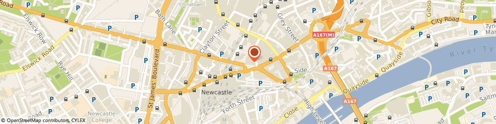 Route/map/directions to Nando's Newcastle - Central, NE1 1TT Tyne and Wear, 48 Westgate Rd