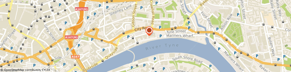 Route/map/directions to Grant Thornton - Newcastle, NE1 3DY Newcastle Upon Tyne, 116 Quayside