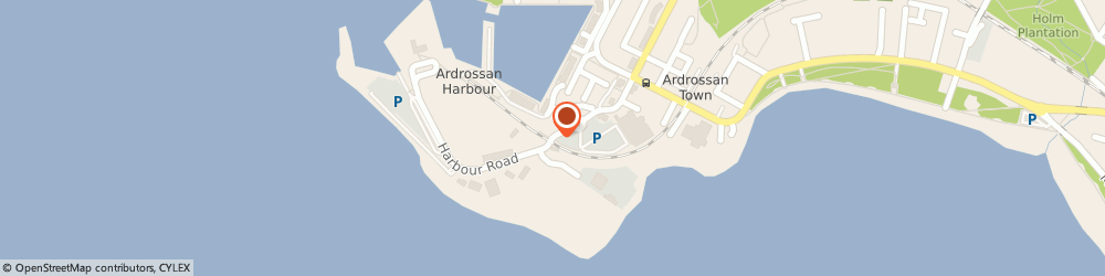 Route/map/directions to Bute Service Centre, KA22 8BZ Ardrossan, Harbour Road