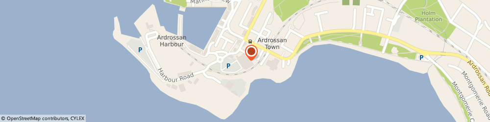 Route/map/directions to Asda Ardrossan Supermarket, KA22 8BZ Adrossan, Harbour Road