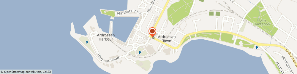 Route/map/directions to Masonic, KA22 8BS Ardrossan, 1, HARBOUR STREET