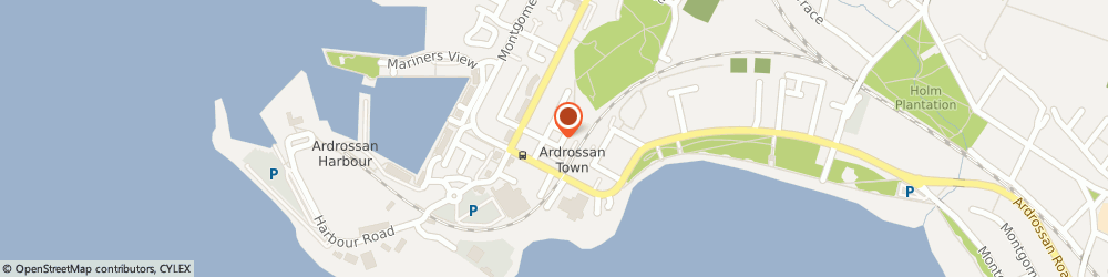 Route/map/directions to J & W Motors, KA22 8HE Ardrossan, Unit 19, Hill St Ind Est, Hill St