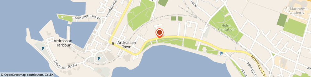 Route/map/directions to Coast to Coast Travel, KA22 8DU Ardrossan, 2 South Crescent Road