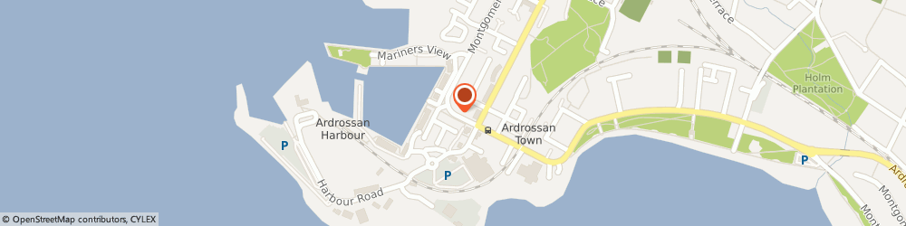 Route/map/directions to Central Garage, KA22 8BP Ardrossan, 2 Princes Street