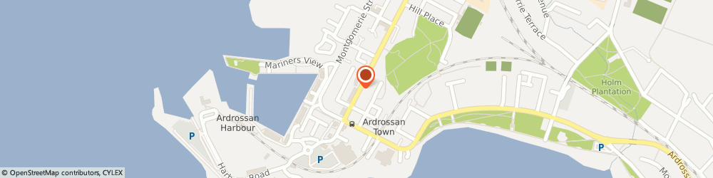 Route/map/directions to Sangeet Indian Restaurant, KA22 8EP Ardrossan, 51 GLASGOW STREET