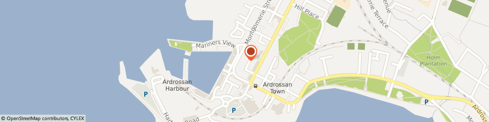 Route/map/directions to A.e Transport & Van Hire, KA22 8EG Ardrossan, 5 A Montgomerie Street