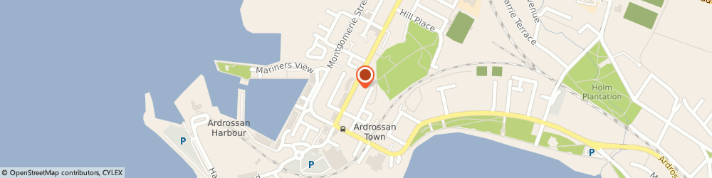 Route/map/directions to L & F Ventilation Engineers Ltd, KA22 8EH Ardrossan, 58 Glasgow Street