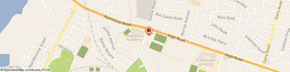 Route/map/directions to D C Diagnostic Revovery Service, KA22 8AP Ardrossan, 54 Sorbie Rd
