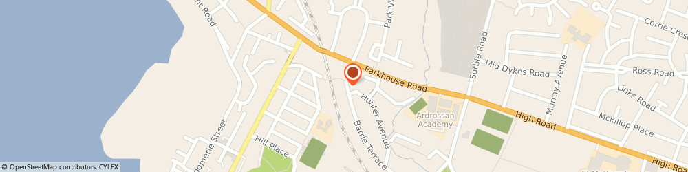 Route/map/directions to A Womans Touch, KA22 8AZ Ardrossan, 149, BARRIE TERRACE