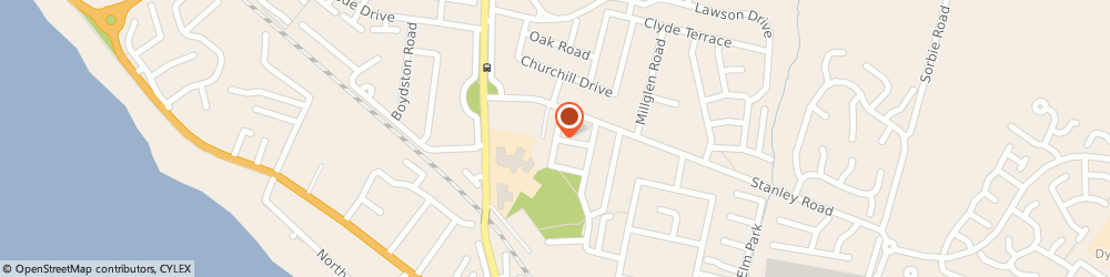 Route/map/directions to Whitlees Community Centre, KA22 7DT Ardrossan, 1 Carrick Place