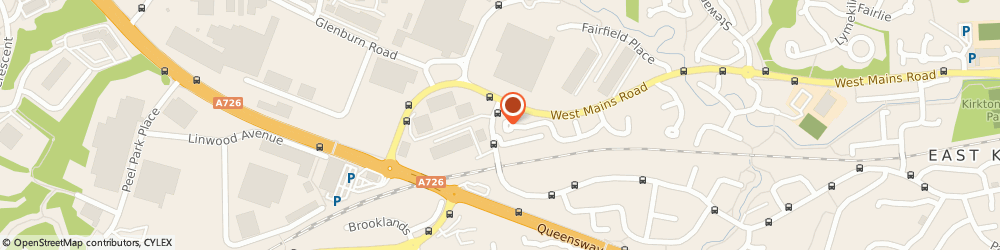 Route/map/directions to Prestige Planning Solutions Ltd, G74 1QT Glasgow, 60 Reay Avenue
